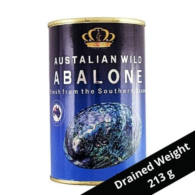 Premium Australian WIld Abalone 特等澳洲野生鲍鱼 - Crown Brand